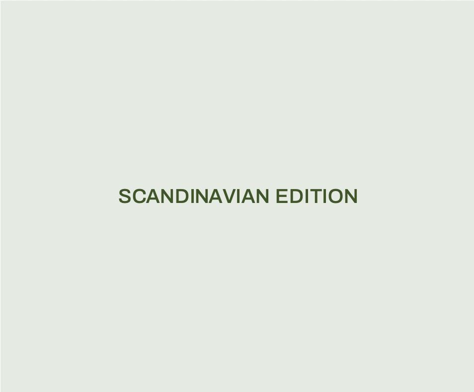 Scandinavian Edition