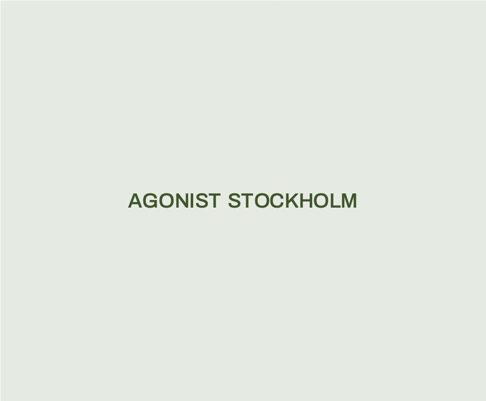 Agonist Stockholm
