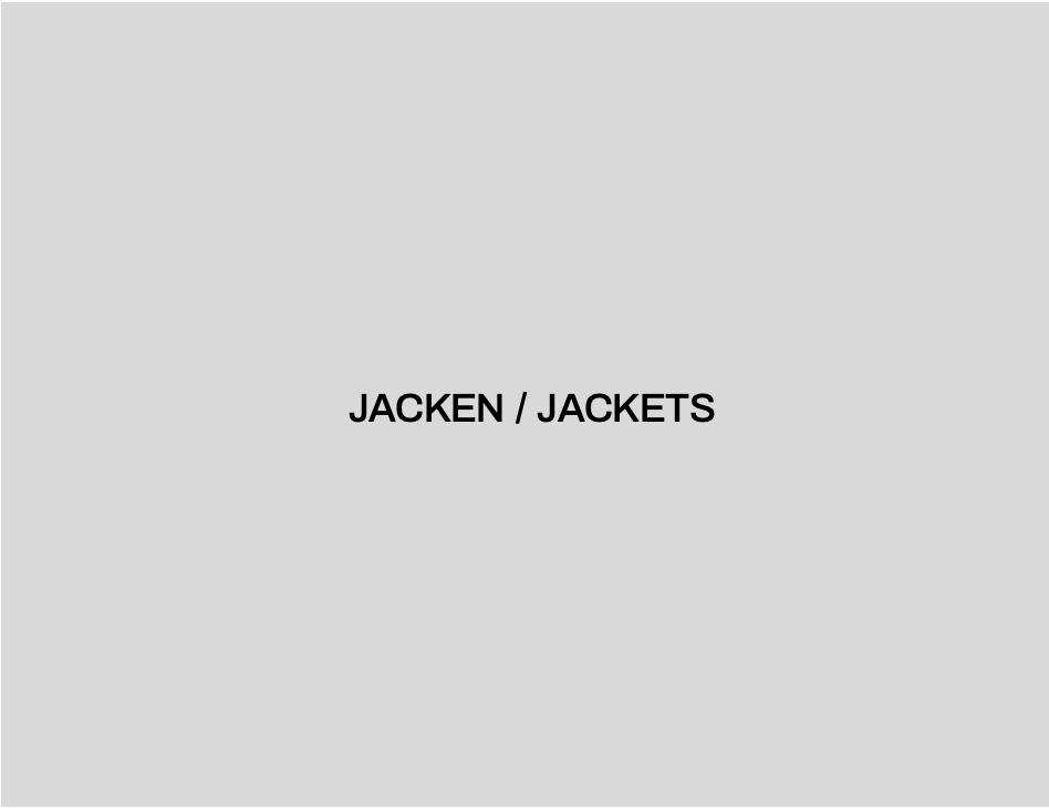 JACKEN / JACKETS