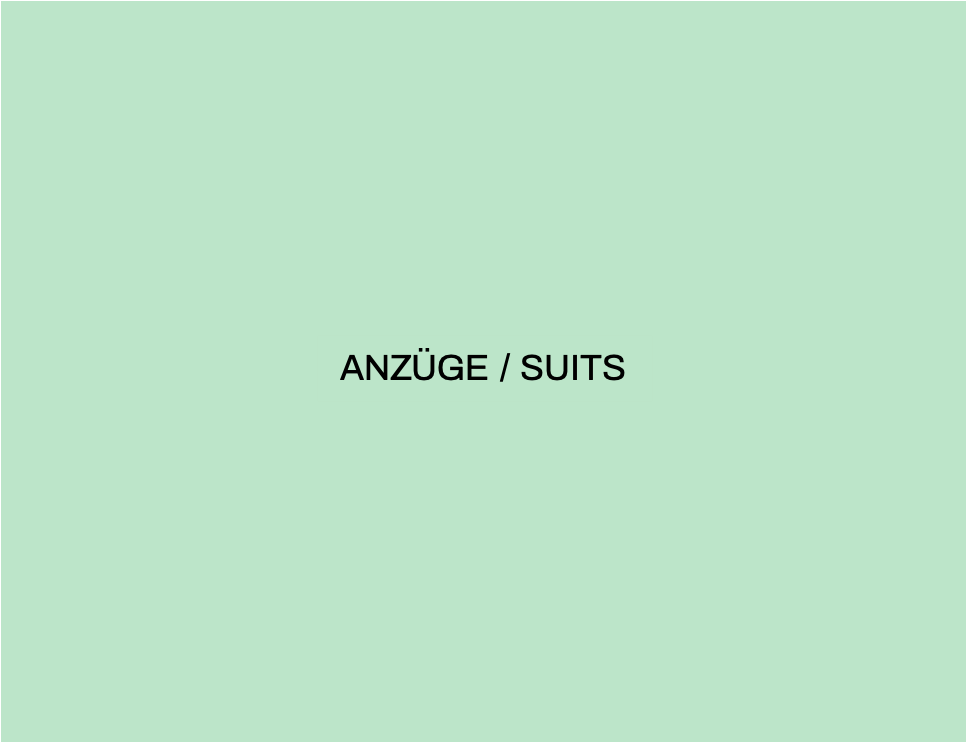 ANZÜGE / SUITS