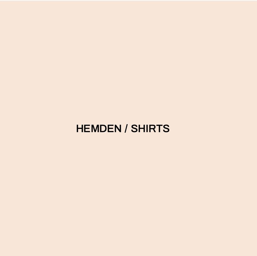 HEMDEN / SHIRTS